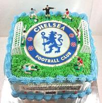 cake ultah bola buat Fathir