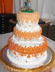 wedding cake 3 susun