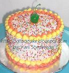 rainbow cake (kue ulang tahun rainbow cake)