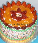 raibow cake pak purwa
