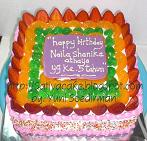 rainbow cake for mbak mita (repeat order)