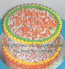 rainbow cake pipih