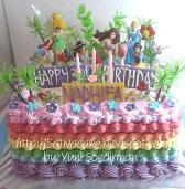 rainbow cake ultah nadhifa