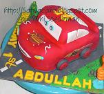 mc queent cake 3D for Abdullah