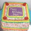 rainbow cake kotak