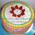 rainbow cake for mbak sylvi