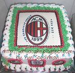 cake ultah dengan edible image/ photo