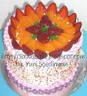 rainbow cake fruity full for judo