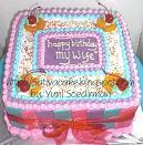 rainbow cake for pak vian