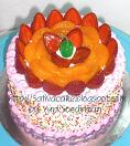 rainbow cake fruity full for bu ririn
