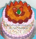 rainbow cake for bu ririn