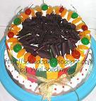 black forest cake for mbak murni
