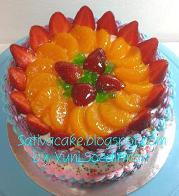 rainbow cake fruti full