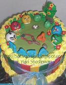 cake carakter angry bird for Raffa