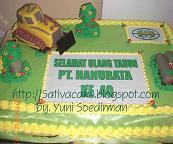 cake carakter traktor