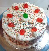 rainbow cake for mbak fenty