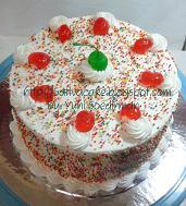 rainbow cake pesanan mbak fenty