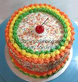 rainbow cake for teh iyah