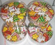 fancy cookies cristmas