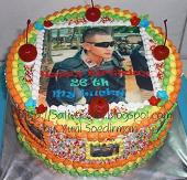 rainbow cake for mbak annisa