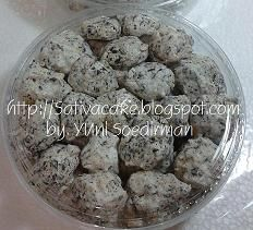 Choco crispy meringue