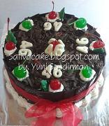 balck forest cake