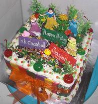 black forest cake dnegan mainan princess