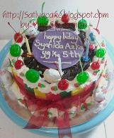 black forest cake for syahida