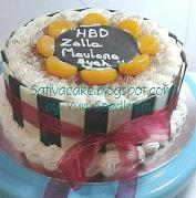 tiramisu cake for mbak merry