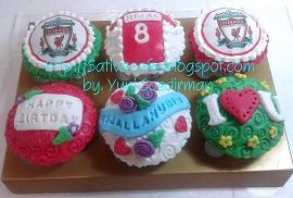 cup cake dengan edible image for mbak devi