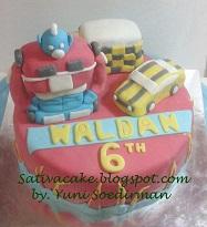 Iron man cake 3D