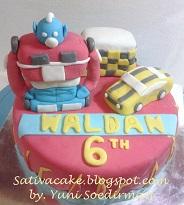 Iron Man cake 3D fpr Waldan