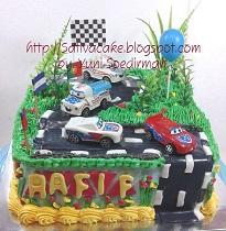 cake ultah buat Rafif