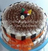 tiramisu cake for mbak erika