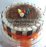 tiramisu cake for mbak murni