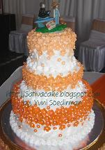 wedding cake mbak puji