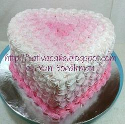 red velvet cake pesanan mbak dyna