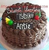 cokelat cake for pak andreas