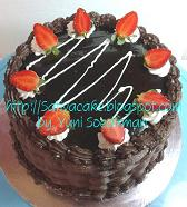 cokelat cake for mbak fao
