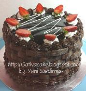 cokelat cake for mbak fao