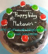 cokelat cake for natawir