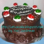 cokelat cake  for natawiri