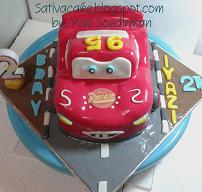 mc queent cake 3D for Iyazi