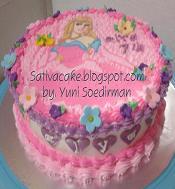 kue ulang tahun Alya