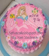 birthday cake for alya
