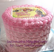 ombre cake for nuri
