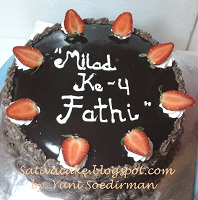 cokelat cake for mbak fenty