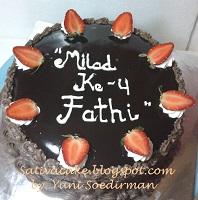 cokelat cake for mbak fenty