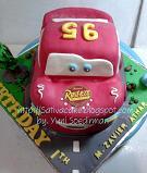 mc queent cake 3d for Zavier