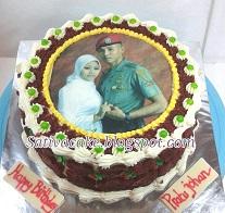 red velvet cake for mbak susan